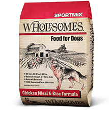 40# Wholesomes Sportmix Chicken & Rice Dry Dog Food