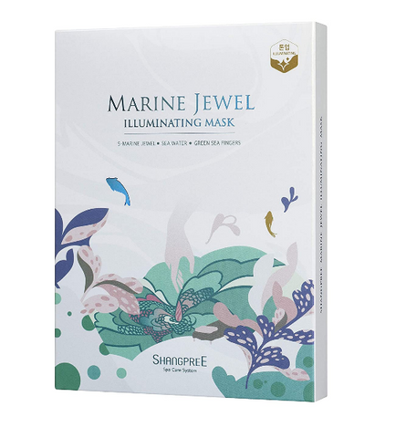 Best Brightening Mask Shangpree Marine Jewel Illuminsating Mask
