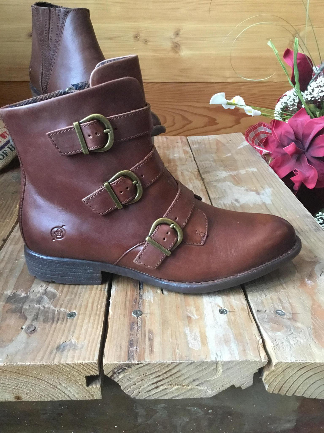 8.5 Bootie Nivine Luggage Brown