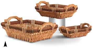 Oblong Willow Fancy Tray
