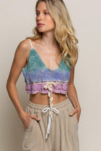 Load image into Gallery viewer, Crochet Crop Tank