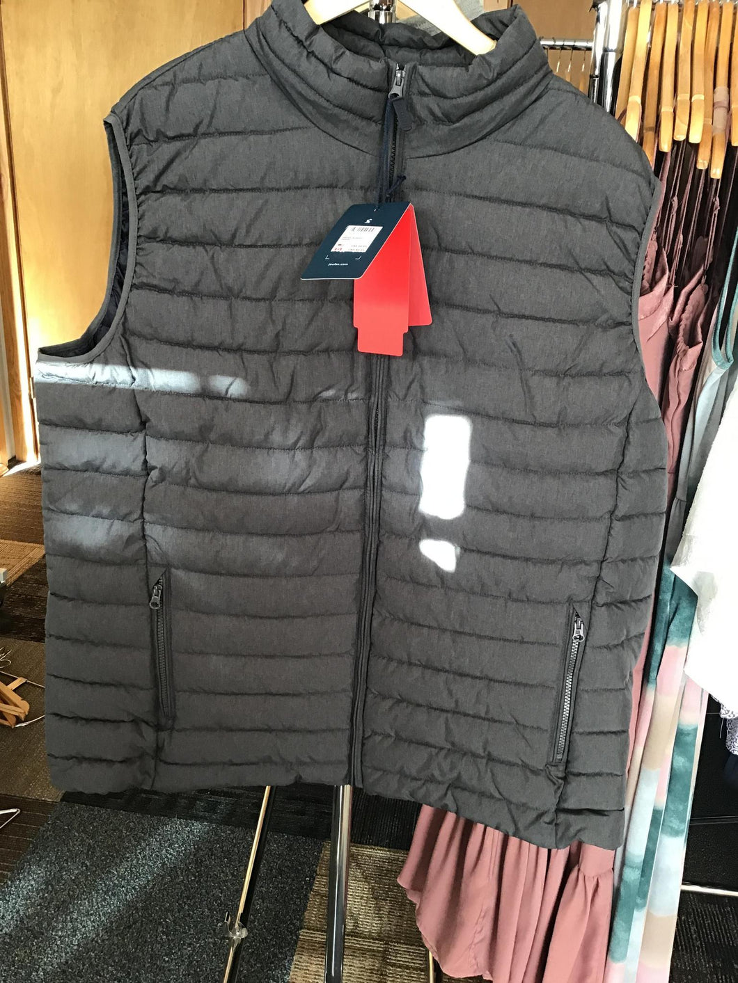 GO TO GILET Lightweight Barrel Gilet GREYMETAL