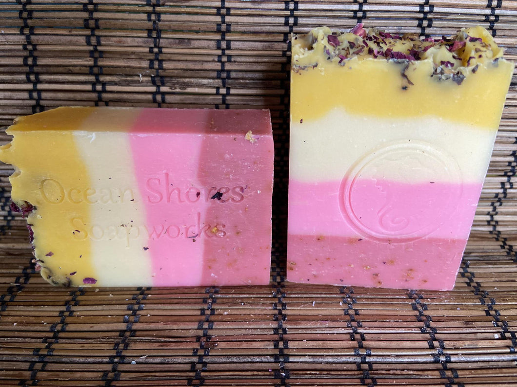 Lemon Rose Soap