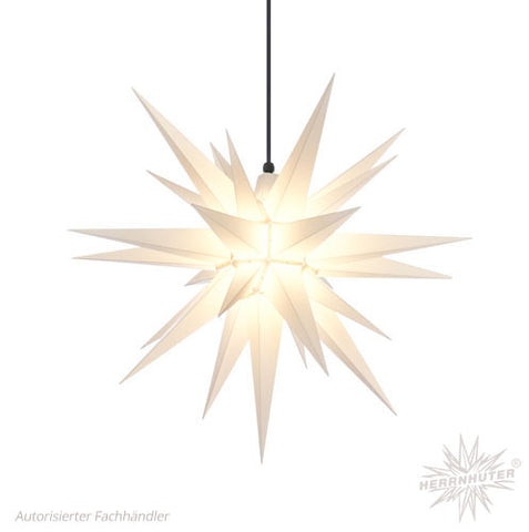 Herrnhut White Plastic Star, 68 cm. Outdoor