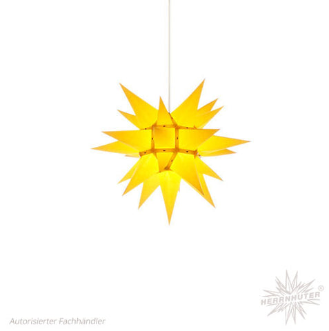 Herrnhut Yellow Paper Star, 40 cm. Indoor