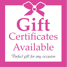 $75 Gift Certificates