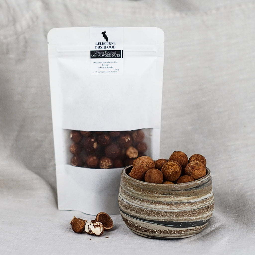 Roasted Sandalwood Nuts - Melbourne Bushfood