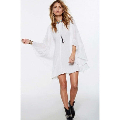 bohochicclothing Dresses EMBROIDERED BELL SLEEVE DRESS boho  chic clothing