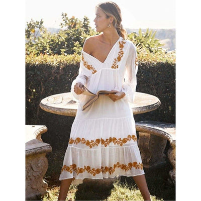 bohochicclothing Dresses LOOSE MAXI DRESS boho  chic clothing