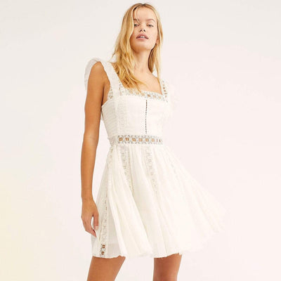 bohochicclothing Dresses VERONA LACE MINI DRESS boho  chic clothing