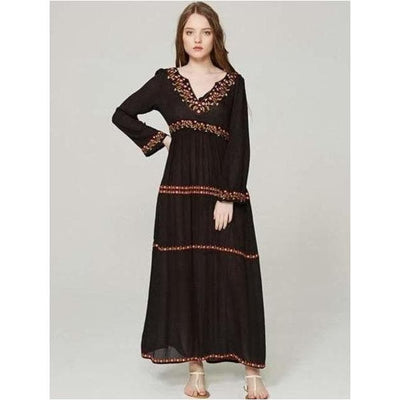 bohochicclothing Dresses VINTAGE BOHO MAXI DRESS boho  chic clothing