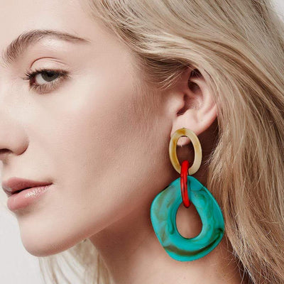 Minimalist Statement Earring - Boho Chic Clothing