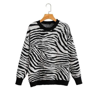 bohochicclothing Jackets ANIMAL KNITTED SWEATER boho  chic clothing