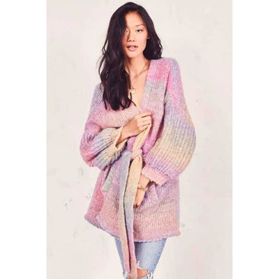 bohochicclothing Jackets CARDIGAN RAINBALL SLEEVES boho  chic clothing