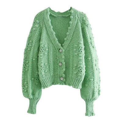bohochicclothing Jackets ELEGANT KNITTED OUTWEAR CARDIGAN boho  chic clothing