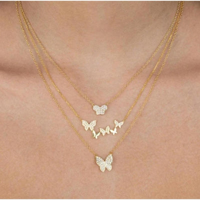 Butterfly Necklace - BohoChic Clothing & Accessories