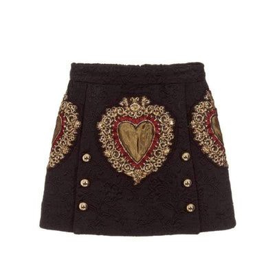 bohochicclothing Vintage Heart Skirt boho  chic clothing