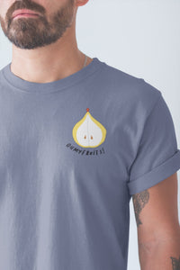 modele-homme-barbu-tshirt-fruit-indigo-poire-ohmyfruits-tatouage