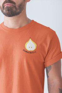 modele-homme-barbu-tshirt-fruit-orange-poire-ohmyfruits-tatouage