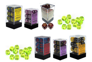 Dice 12D6 - Multiple Colour Selection