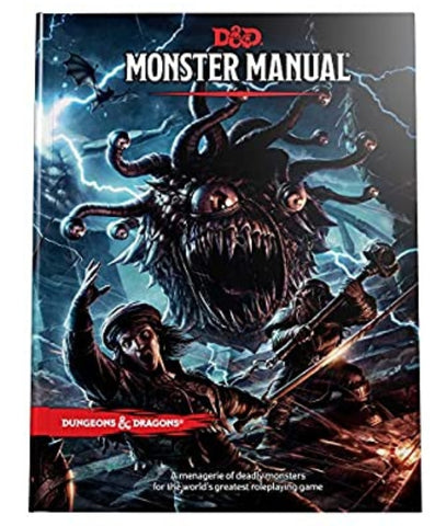 Dungeons & Dragons Monster Manuel 5E