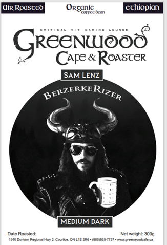 BerzerkRizer -Sam Lenz Coffee 300g