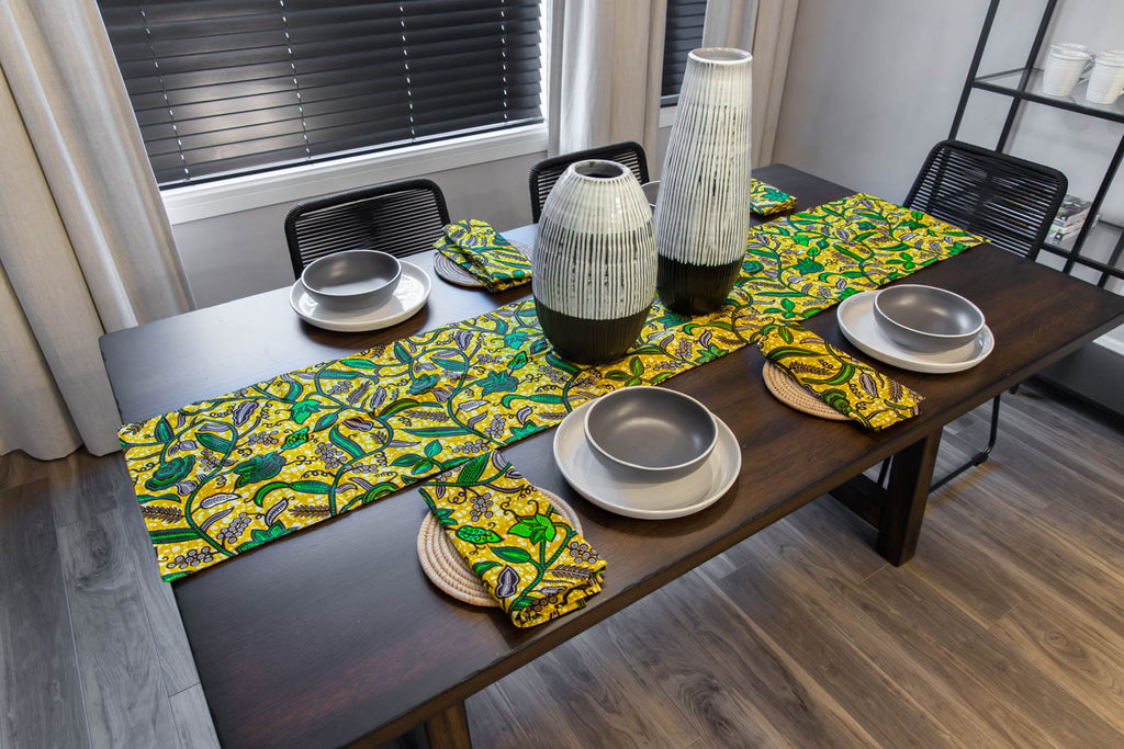African Print Napkins (Set of 4 or 6)