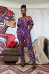 Abeni Off-Shoulder Jumpsuit