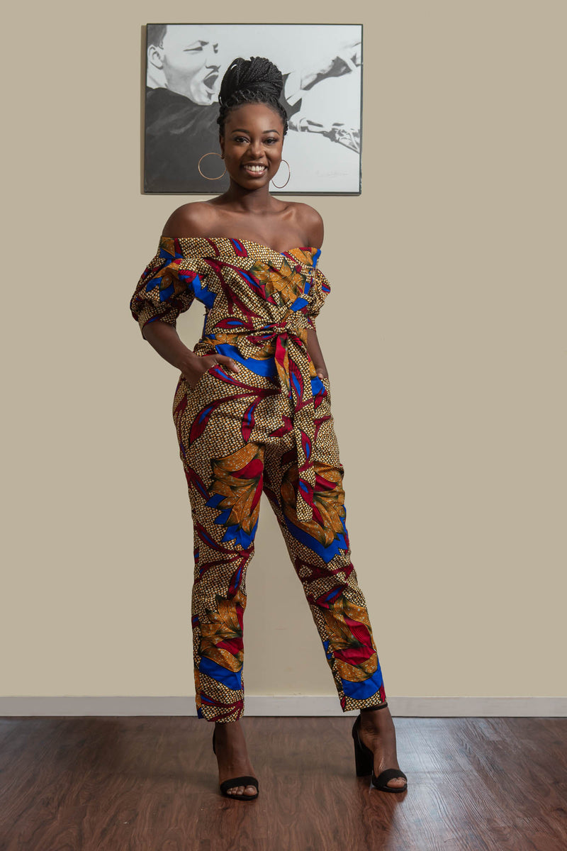 Akiti Off-Shoulder Jumpsuit