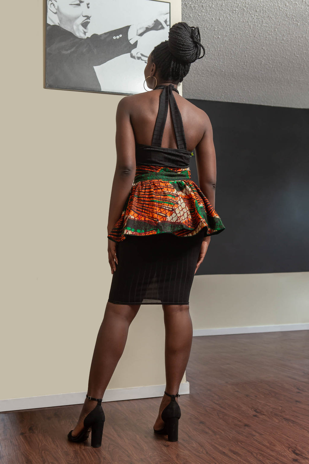 Bewaji Reversible Peplum Belt