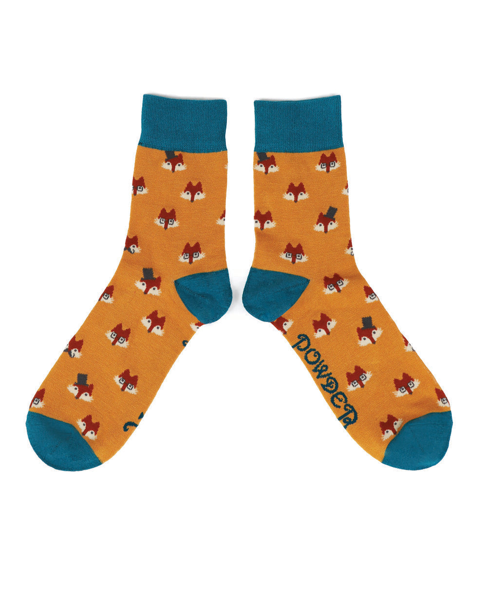 Mens Ankle Sock- Fox Faces