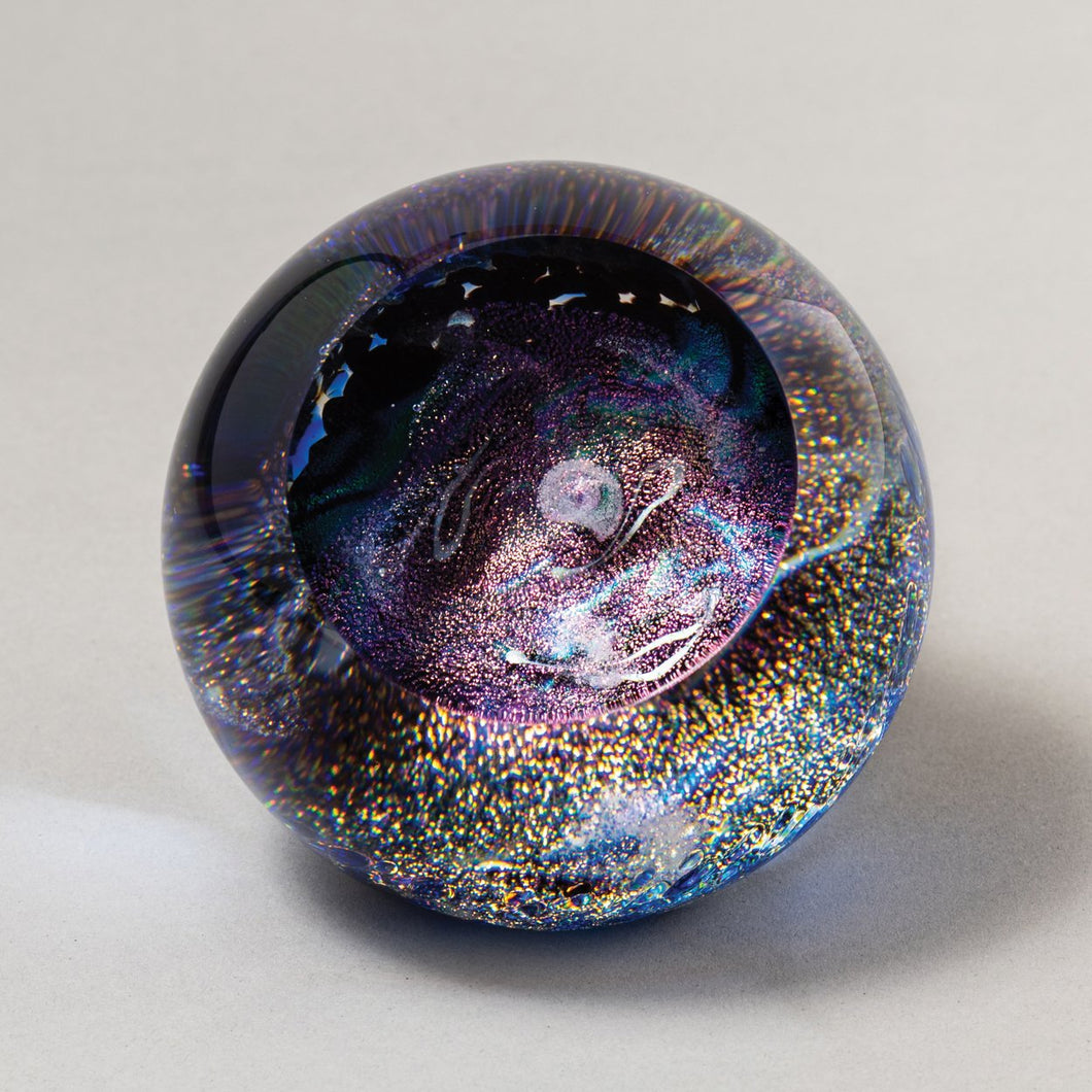 Celestial Whilrpool Galaxy Paperweight