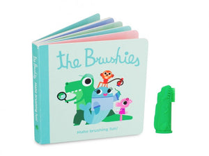 Brushies! Chomps Dino Puppet Toothbrush & Book