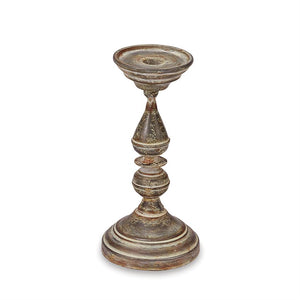 Tin Candle Stick Holder, for Pillars OR Tapers ~ Medium
