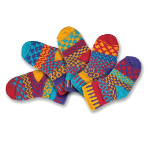 Solmate Socks: Firefly Baby Two Pair with a Spare!