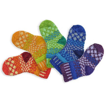 Load image into Gallery viewer, Solmate Socks: Prism Baby Two Pair with a Spare!