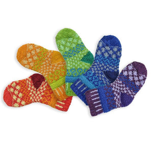 Solmate Socks: Prism Baby Two Pair with a Spare!