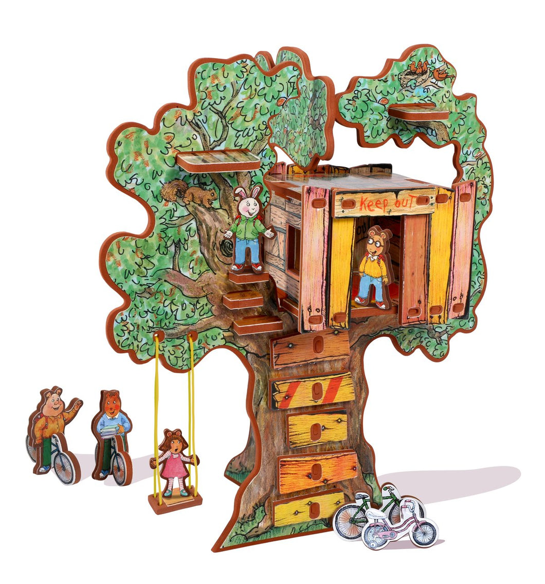 Arthur's Tree House Book & Playset