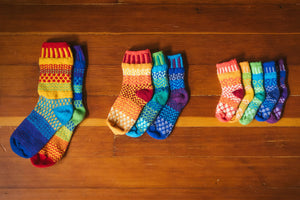 Solmate Socks: Prism Kids Pair with a Spare!
