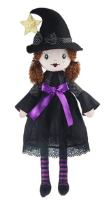 "20"" Clarice Witch Rag Doll"