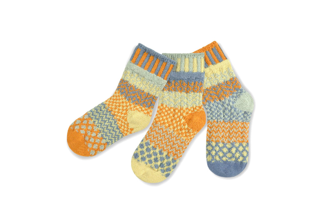 Solmate Socks: Puddle Duck Kids Pair with a Spare!