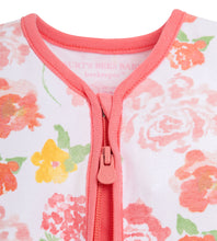 Load image into Gallery viewer, Organic Cotton Rosy Spring Wearable Blanket