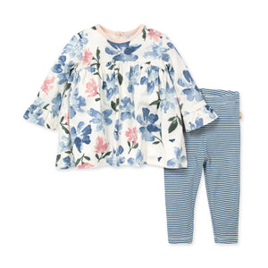 Organic Cotton Botanical Gardens Tunic & Legging Set