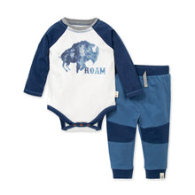 Load image into Gallery viewer, Organic Cotton Roam Tee and Pant Set