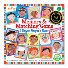 Load image into Gallery viewer, I Never Forget a Face Memory and Matching Game