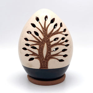 Mini Tree of Life Luminary Black Base (double-sided)