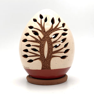 Mini Tree of Life Luminary Rust Base (double-sided)