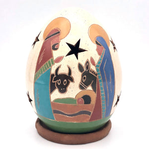 Mini Nativity Luminary w/ Animals