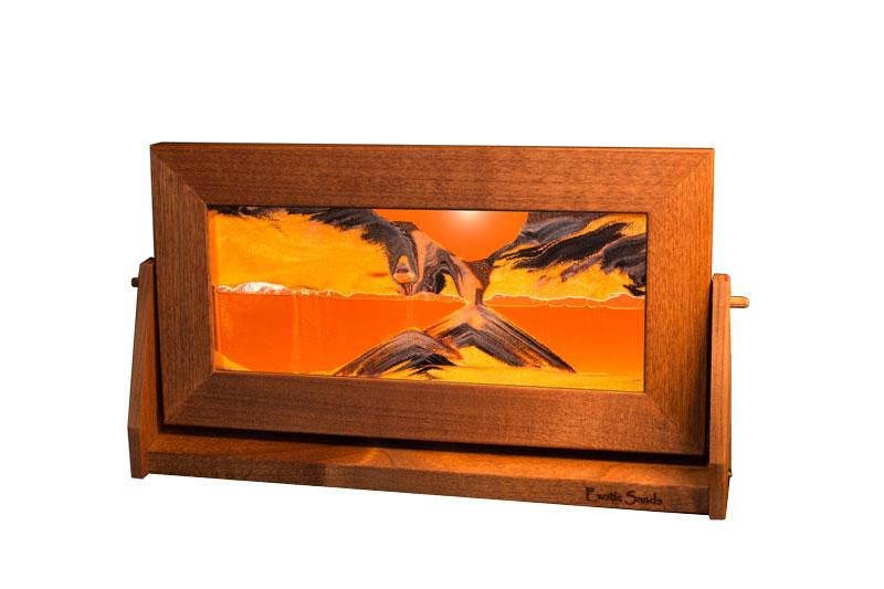 Fluid Sand Art ~ Medium ~ Sunset