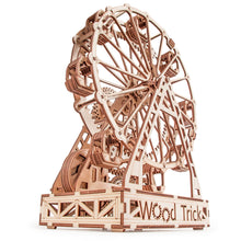 Load image into Gallery viewer, Ferris Wheel ~ Wooden Model/Puzzle Kit